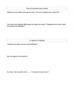 questionnaire patient2